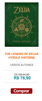 LEGEND OF ZELDA, THE - HYRULE HISTÓRIA