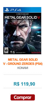METAL GEAR SOLID V - GROUND ZEROES (PS4)